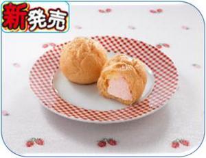 国産小麦粉シュークリームいちご.JPG