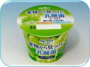 果物から見つけた乳酸菌ヨーグルトマスカット.JPG