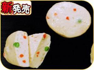 ふわふわ豆腐ステーキにんじんとグリーンピース.JPG