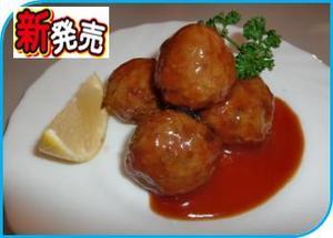 NKRホルモン入り肉団子.JPG
