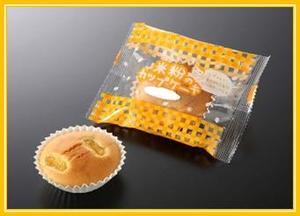 米粉のカップケーキ(メープル風味)鉄.JPG