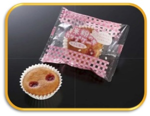 米粉のカップケーキ(イチゴ風味)鉄.jpg